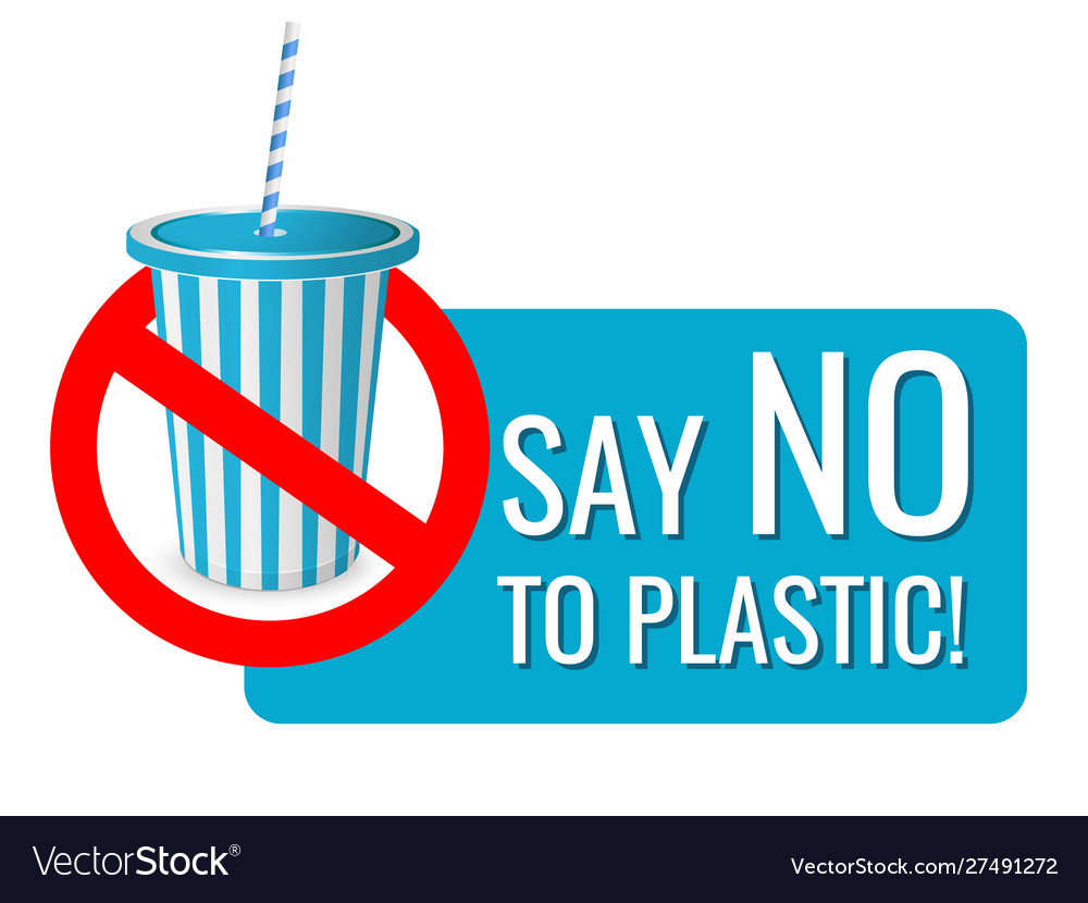 No plastic striped plastic disposable cup with a