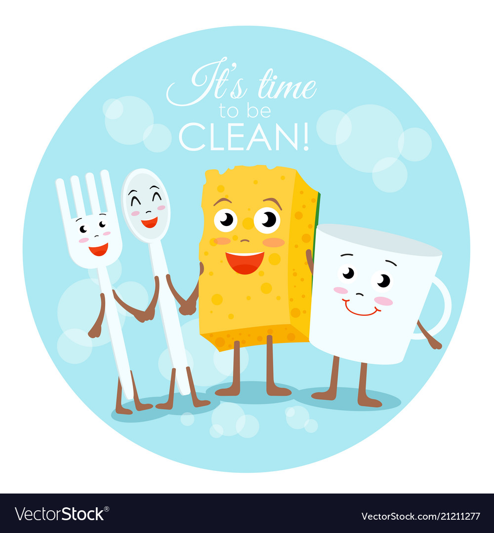 Cleaning concept in flat