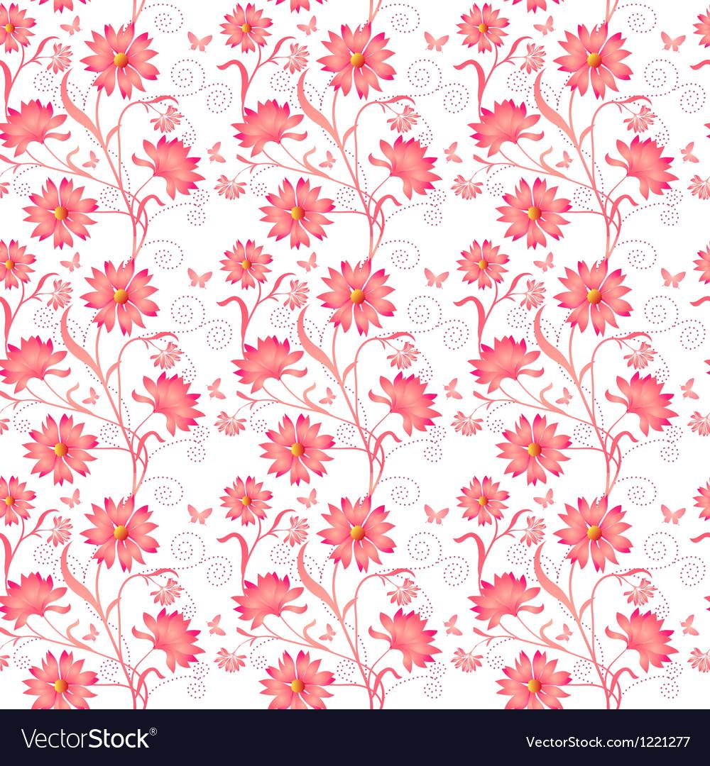 Elegance Seamless color pattern vector image
