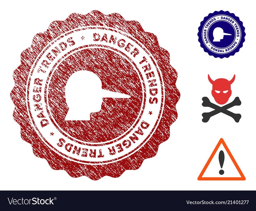 Lier danger trends seal with scratched style