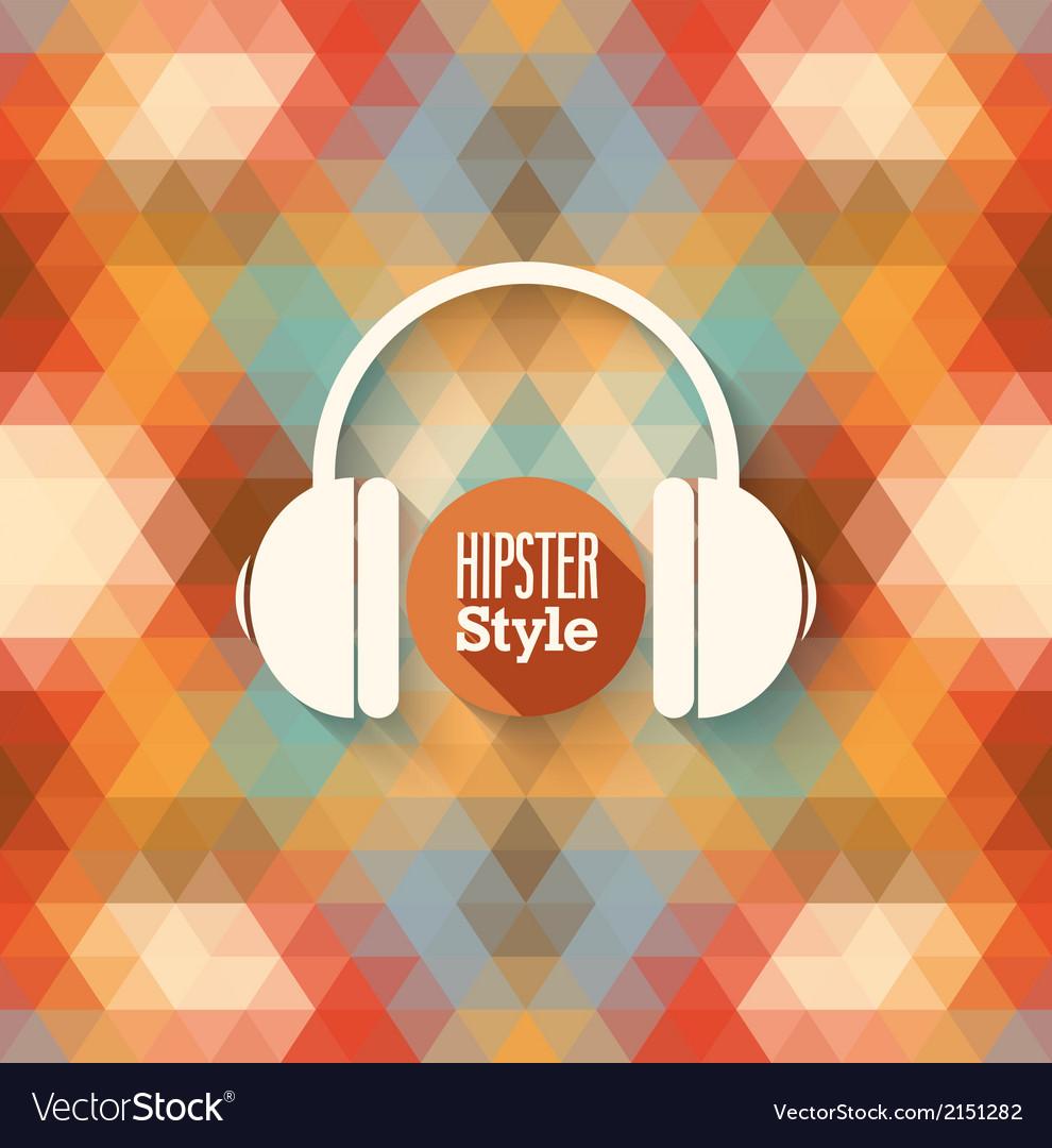 Hipster background
