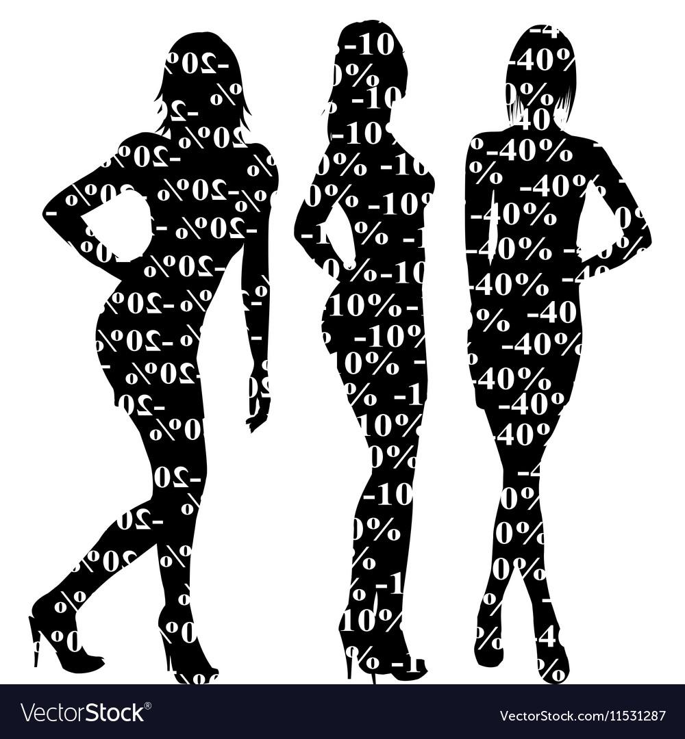 Sale discount women silhouettes