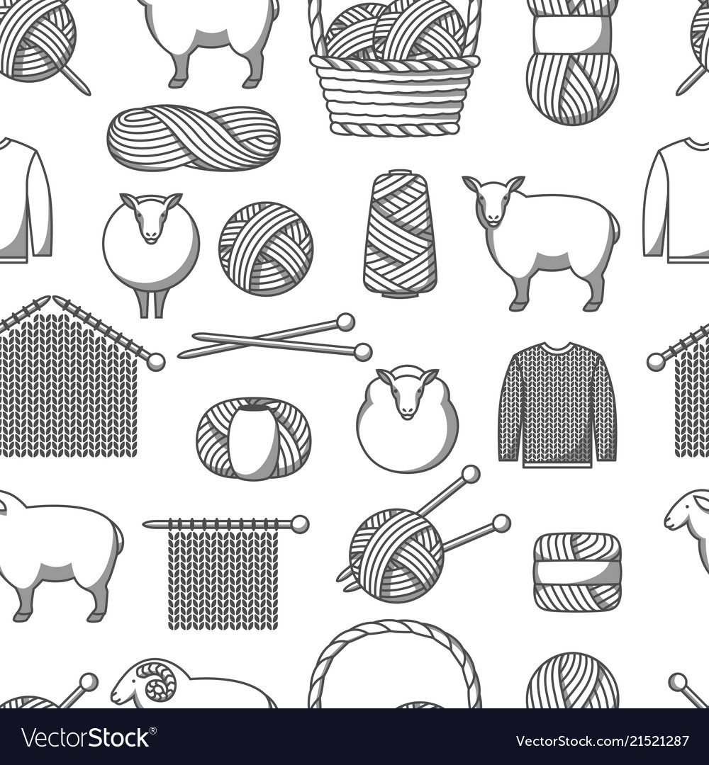 Lamb & Craft Vector Images (60)