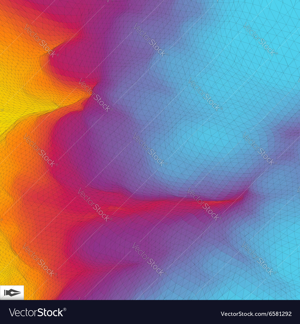 Abstract Geometric Background Mosaic