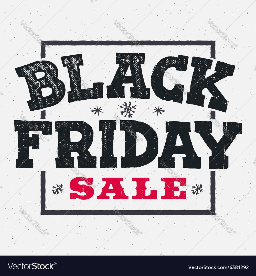 Black friday sale lettering on chalklboard