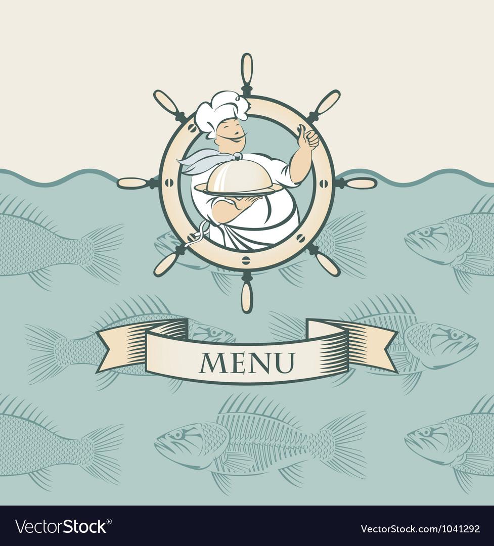 Cook wheel vector image