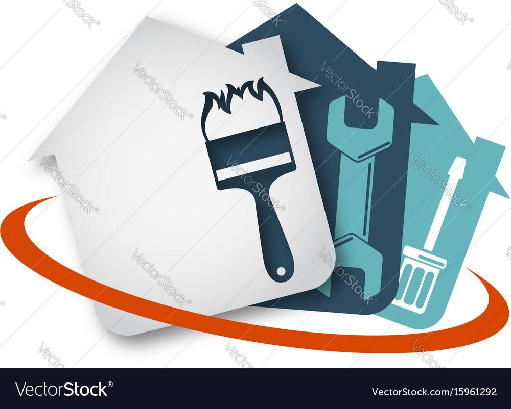 Home repair tool vector image