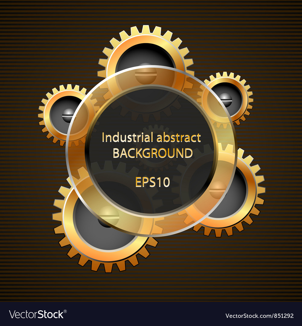 Industrial abstract background vector image