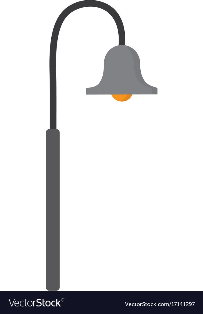 icon lighting. wonderful lighting street lamp icon vector image with icon lighting