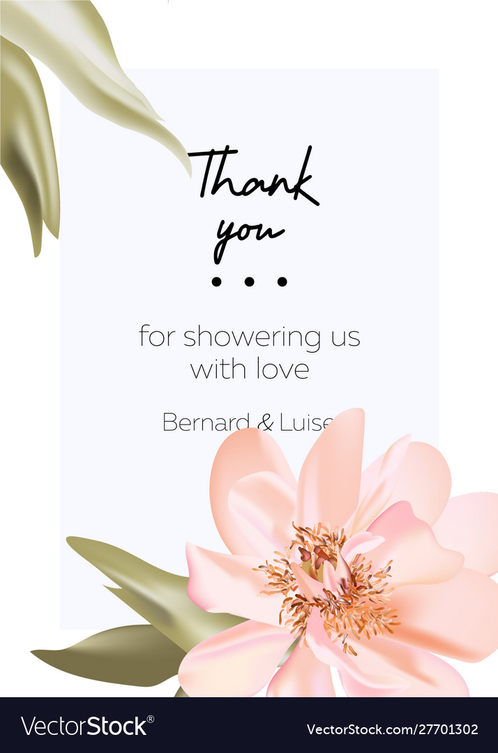 Wedding peony floral pastel realistic invitation
