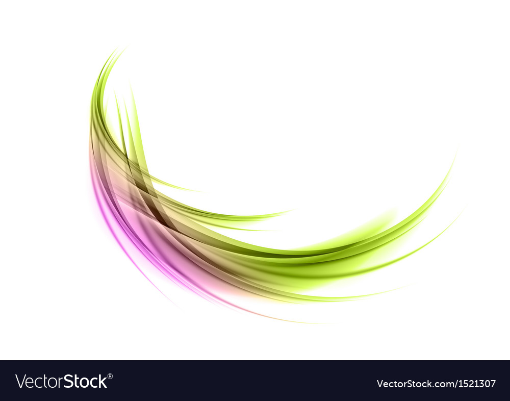 Abstract smoke green purple