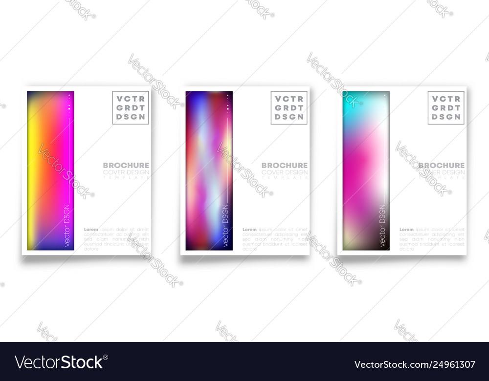 Set gradient texture background for banner