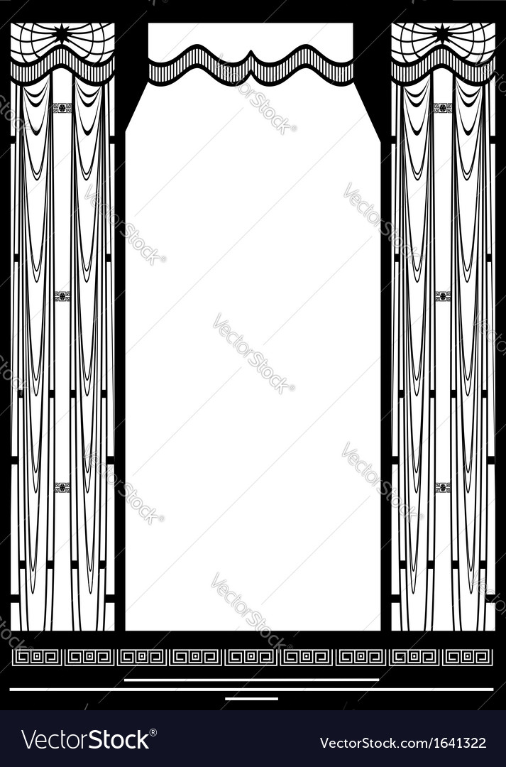 Grid frame Royalty Free Vector Image - VectorStock