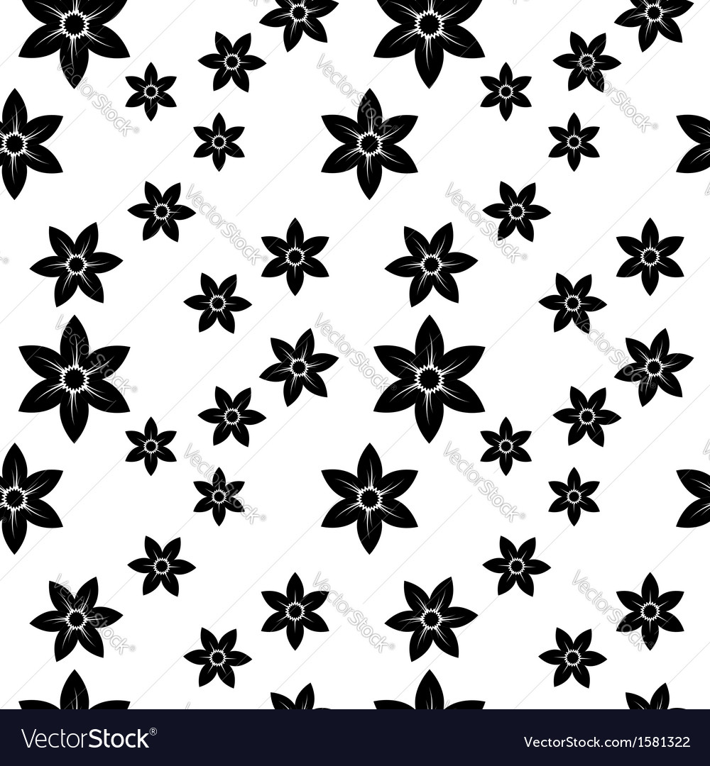 Narcissus monochrome pattern