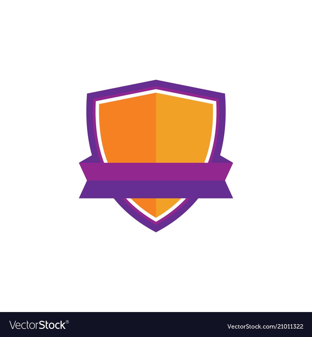 Shield business technology logo