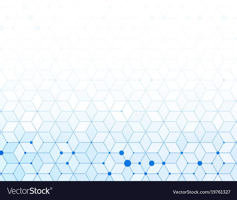 Abstract blue medical background vector image
