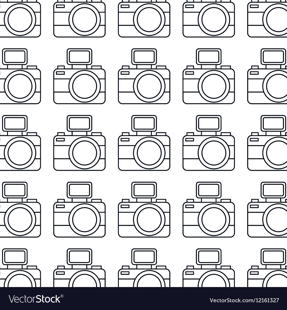Photographic camera pattern icon