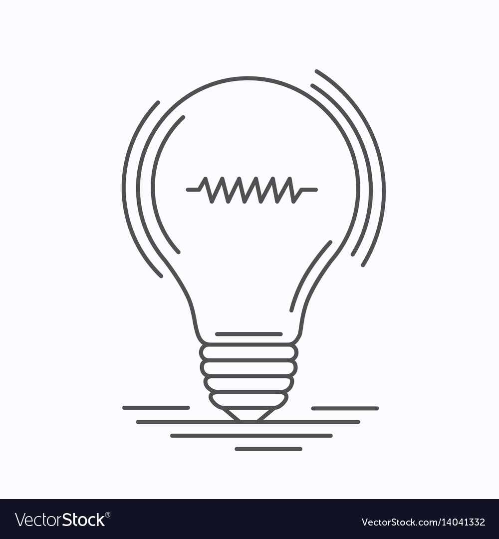 Bulb idea of the lines