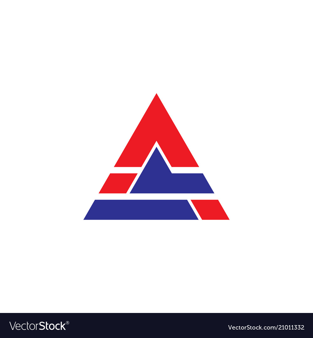 Triangle business technology logo