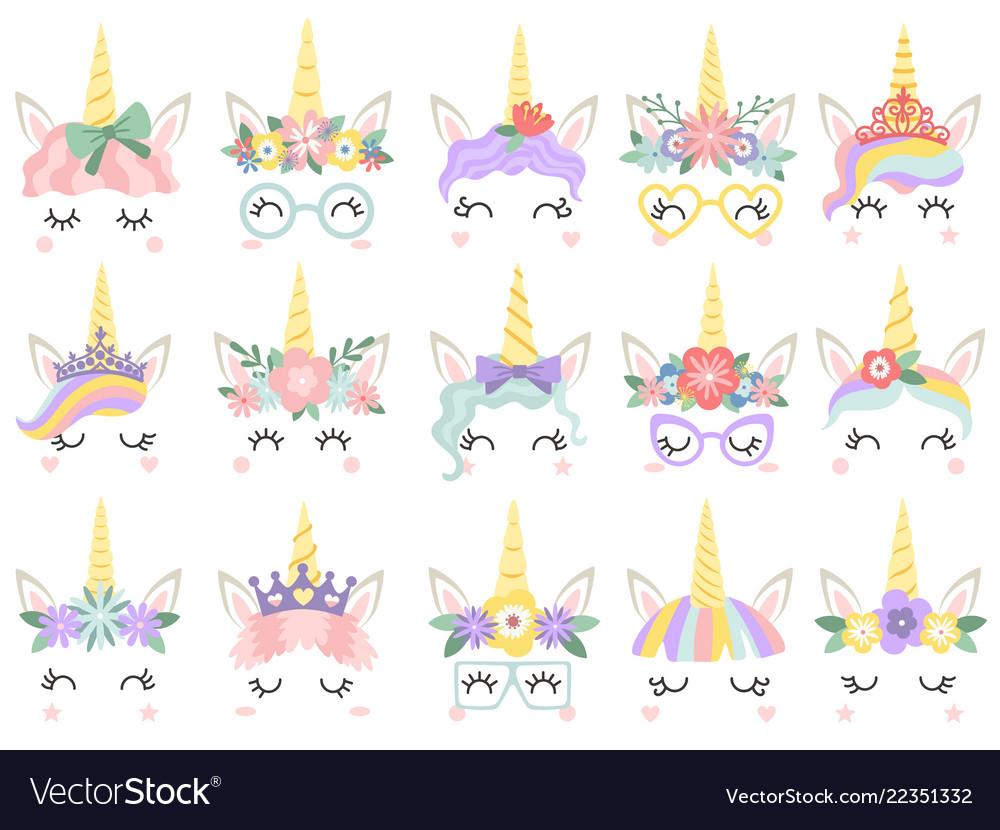 Unicorn face beautiful pony unicorns faces magic