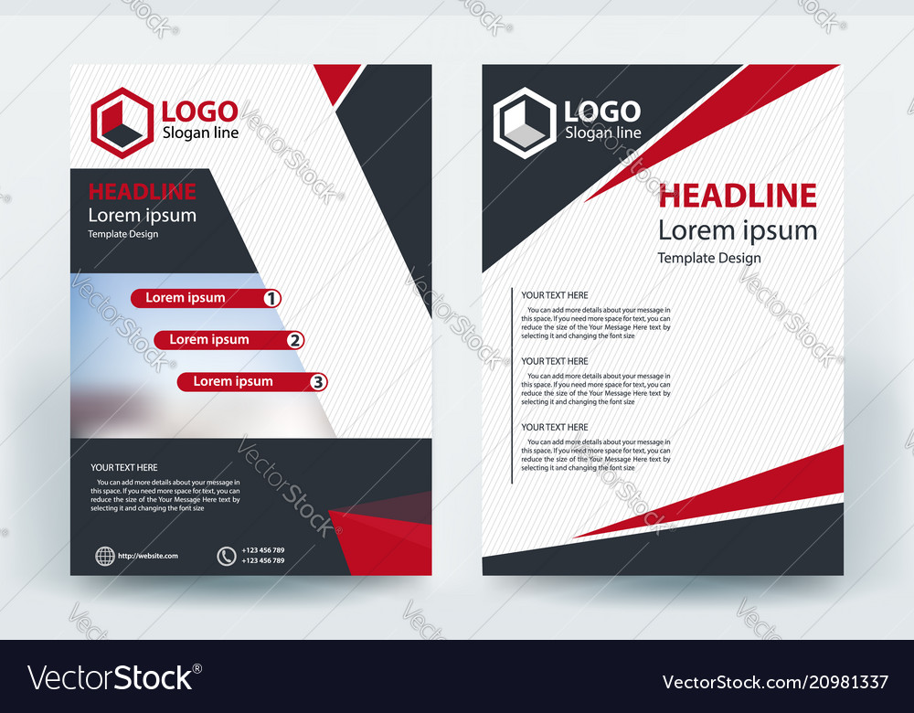 Corporative company business flyer banner concept