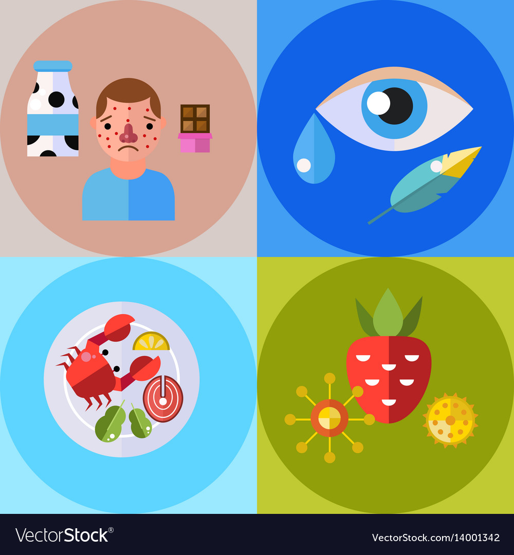 Allergy symbols disease healthcare tablets viruses
