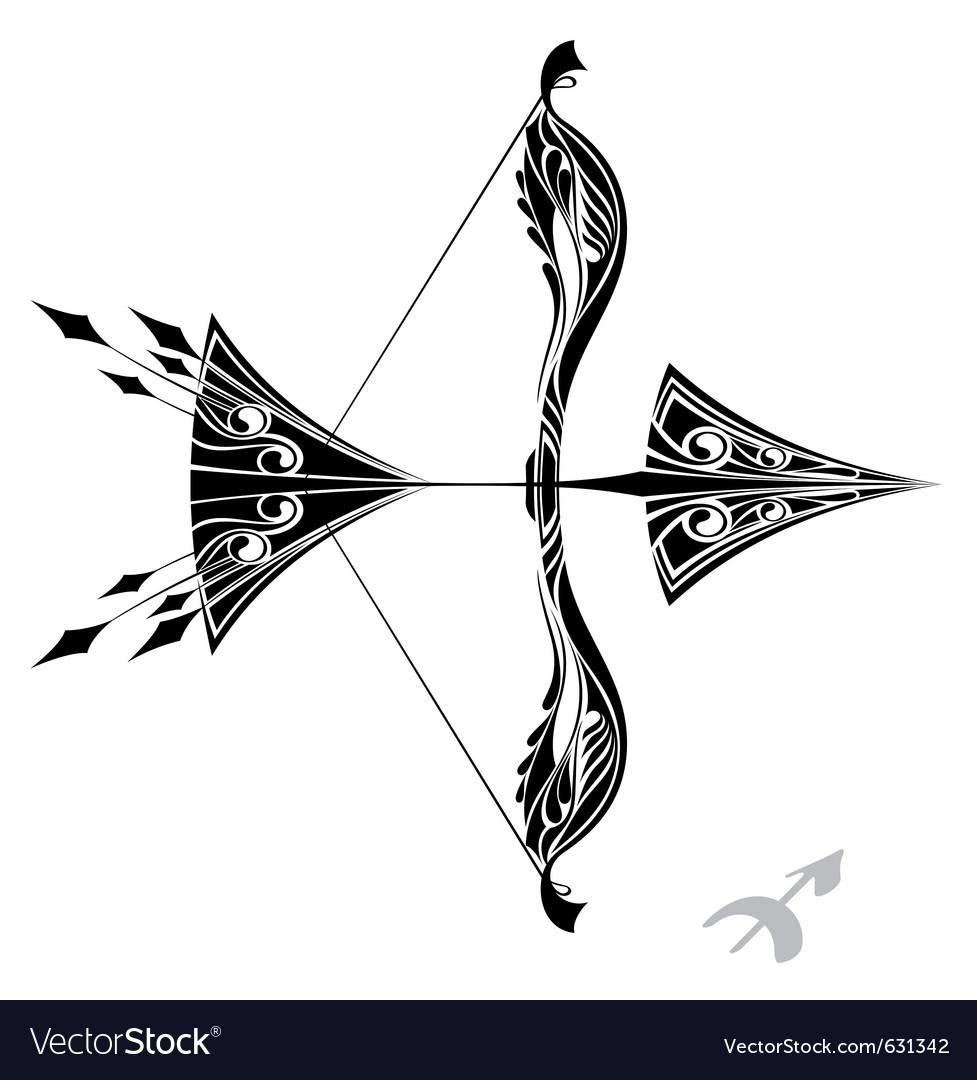 15e5480eb Zodiac signs - sagittarius Royalty Free Vector Image