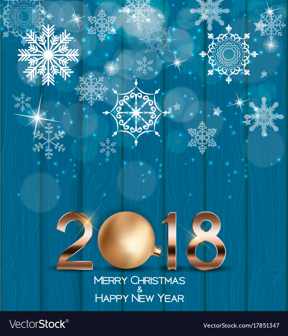 Abstract beauty christmas and 2018 new year