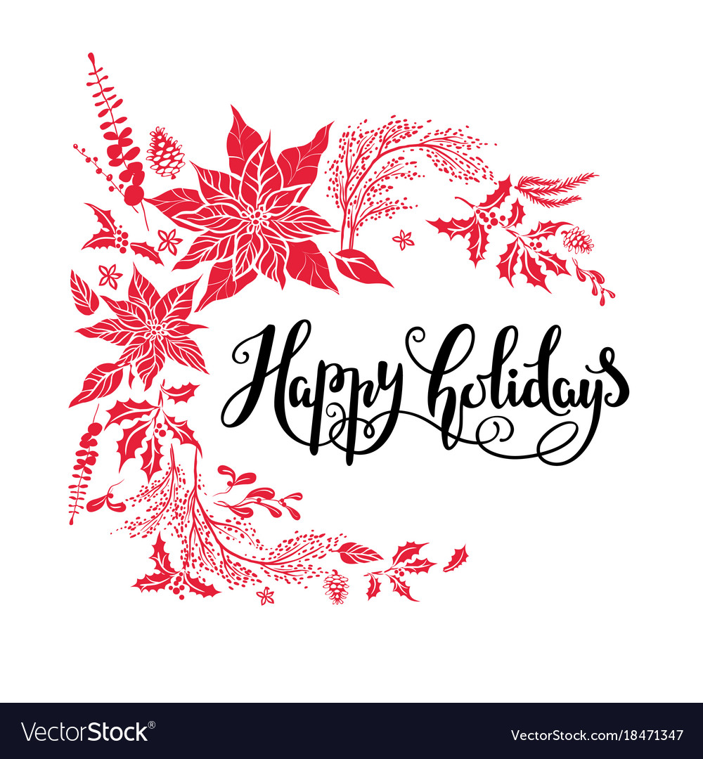 Happy Holiday Design Royalty Free Vector Image