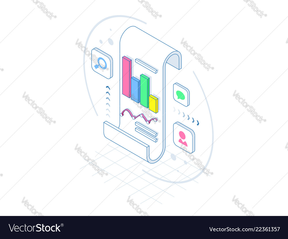 Isometric business analysis and planning