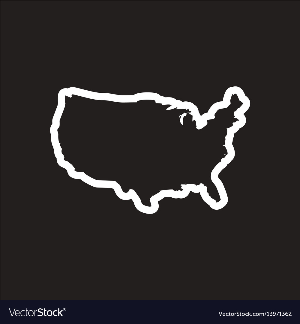 Stylish black and white icon map of usa on usa welcome logo, usa parking logo, google maps logo, united states logo, usa art logo, usa restaurant logo, usa car logo, usa login logo, us states logo, usa letter logo, usa outline logo, usa union logo, education usa logo, north america logo, usa baseball logo, usa travel logo, usa school logo, usa hockey logo, product of usa logo, usa hat logo,