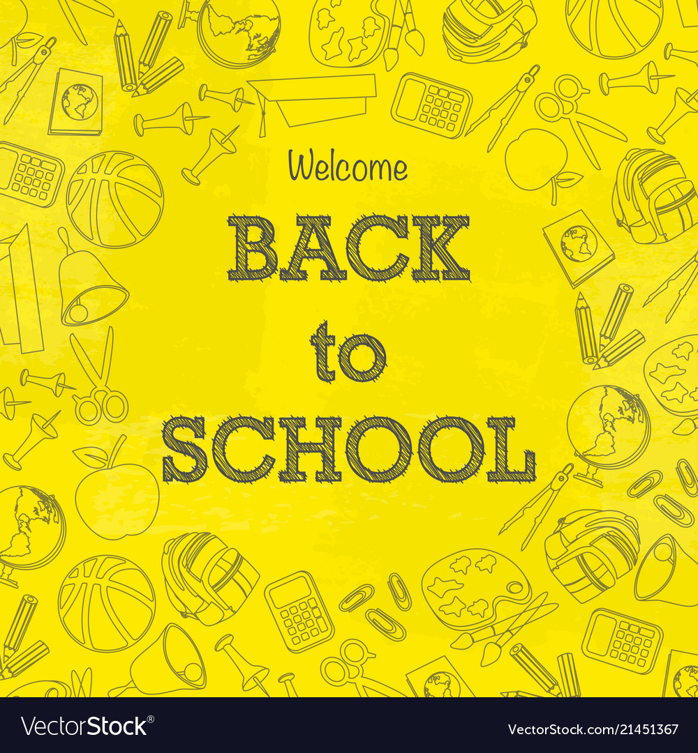 Back to school signs wallpaper
