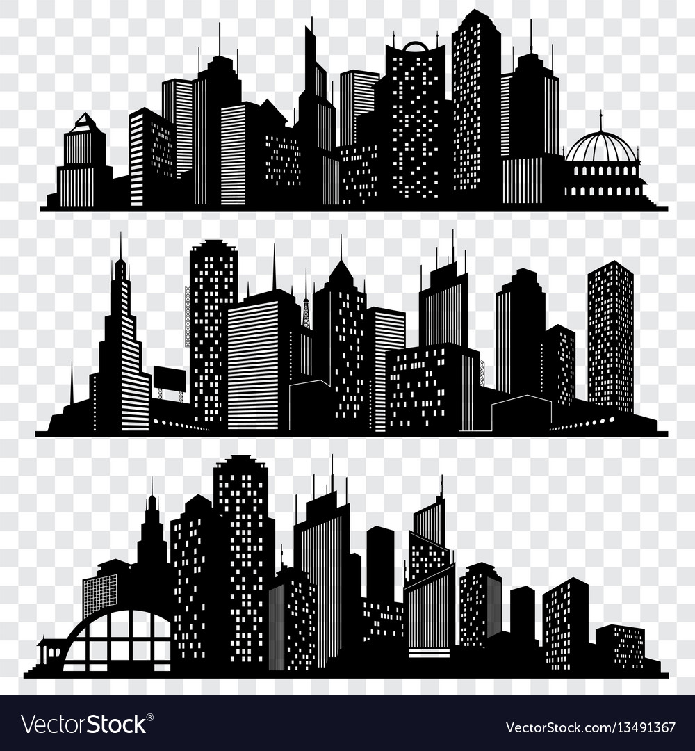 Cityscapes town skyline buildings big city