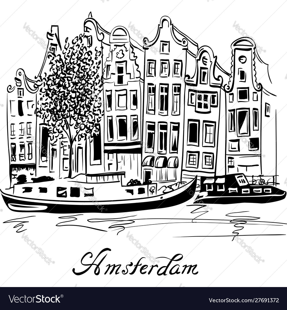 City view amsterdam canal