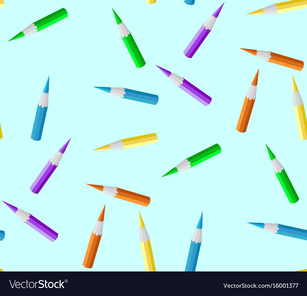 Seamless texture pencil vector image