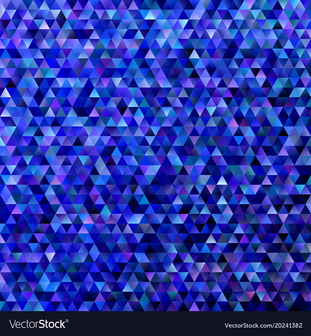 Abstract gradient tiled triangle pattern