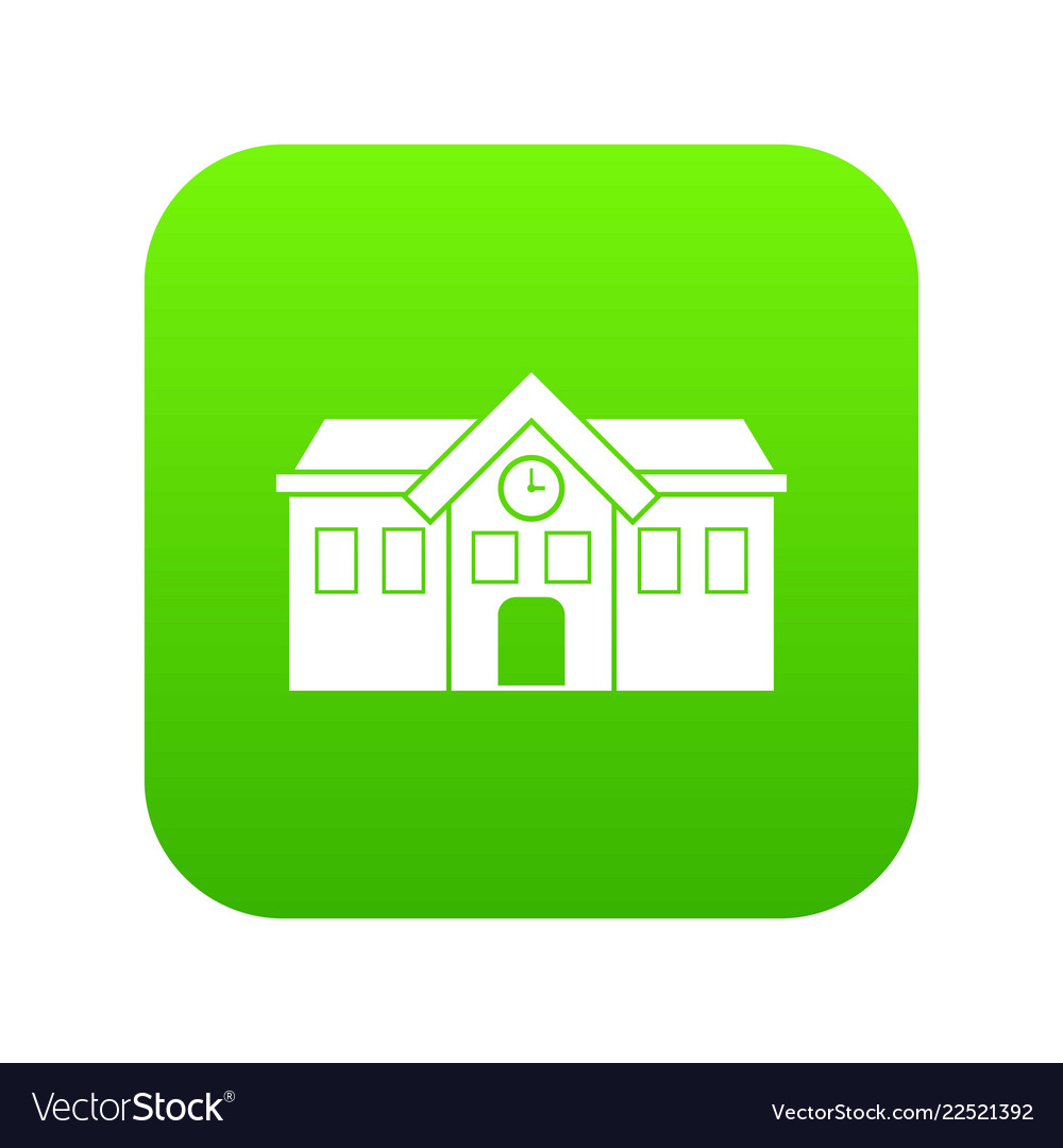 Chapel icon digital green
