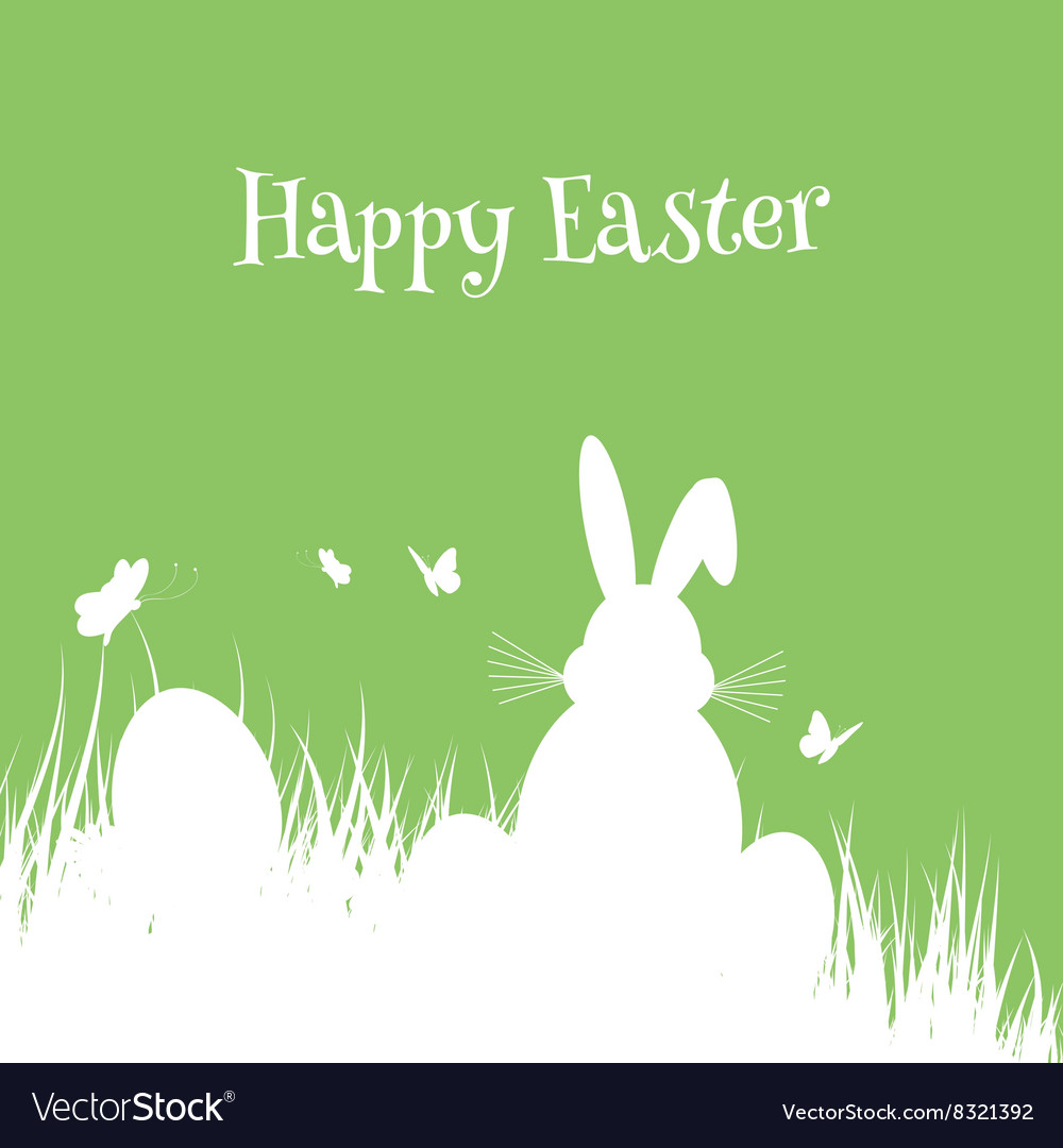 Easter bunny background 2502