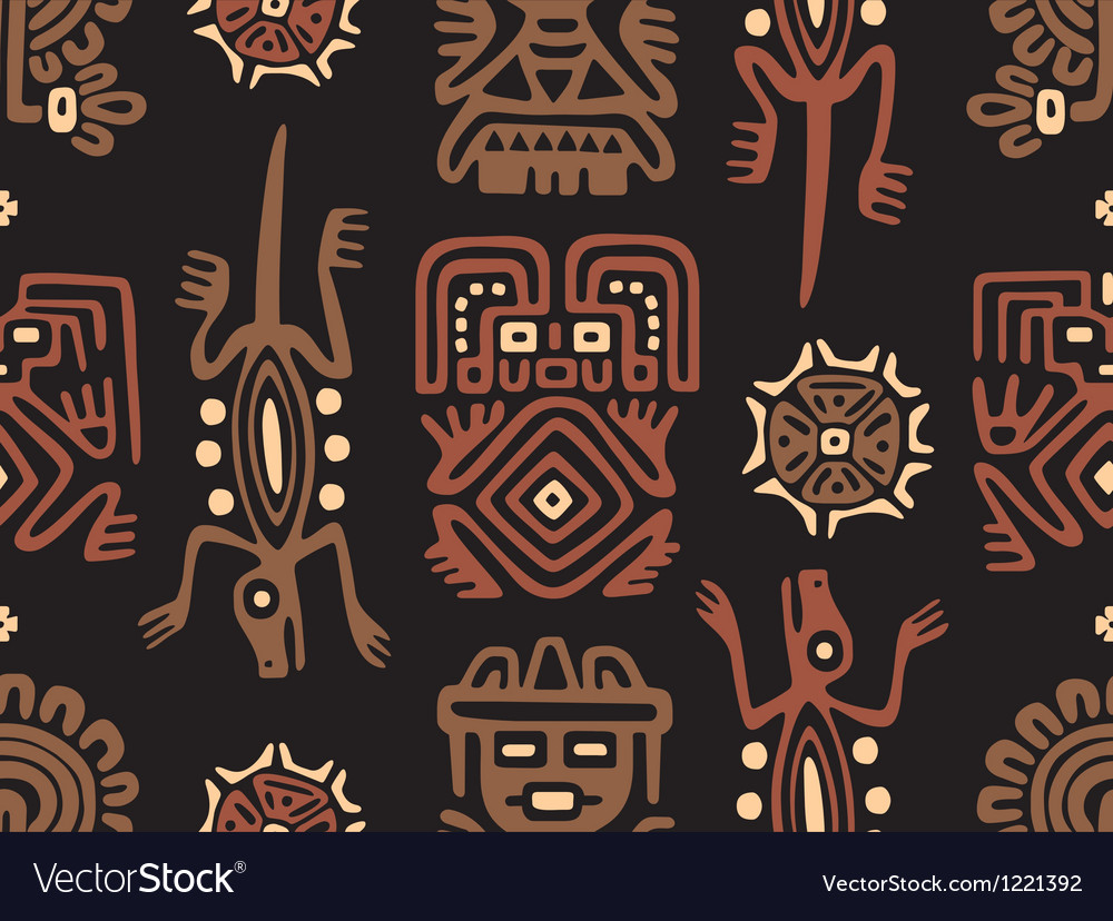 Mexican Pattern Seamless Tile