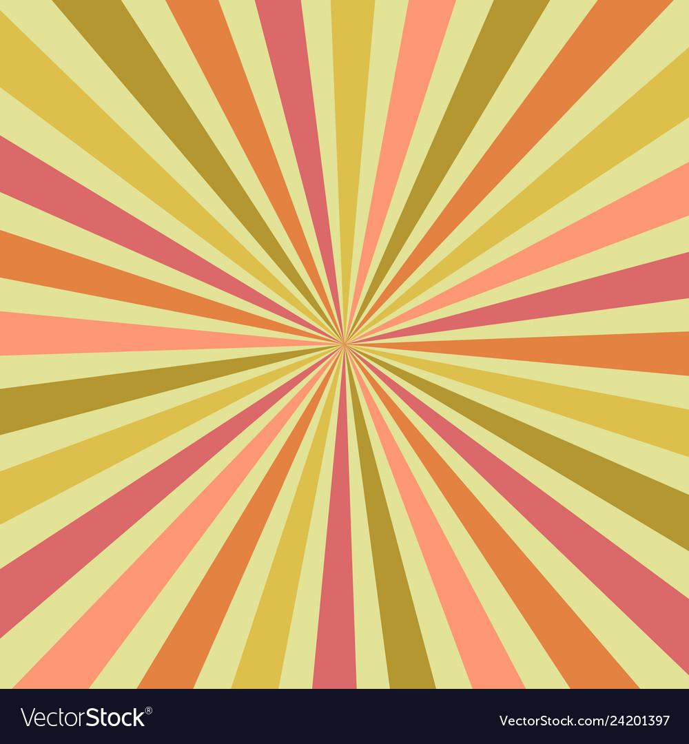 6bcef6f8b7fd5 Abstract summer burst sunburst rays in shades Vector Image
