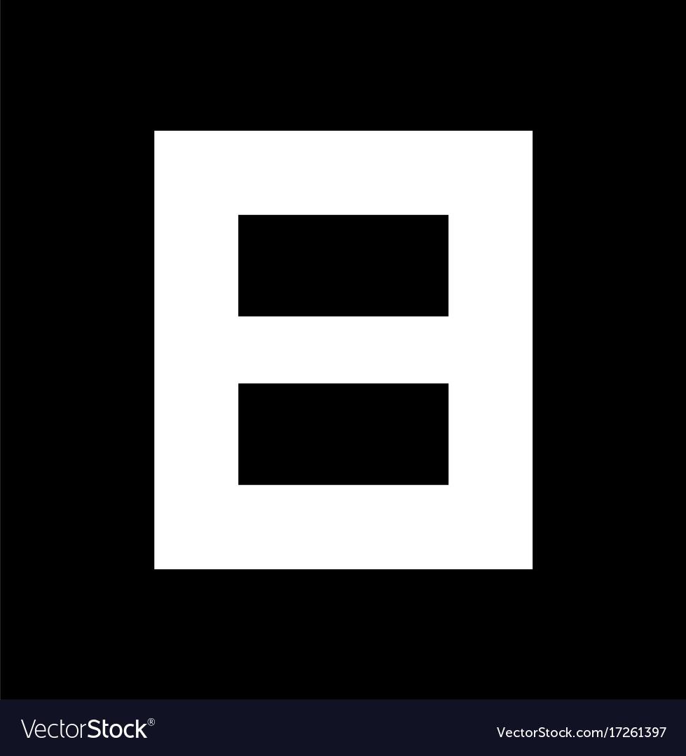 B block logo