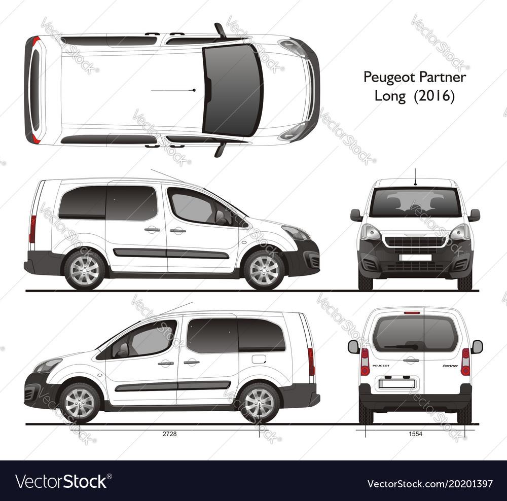 Citroen Berlingo 2018 >> Peugeot partner long wheel base passenger van 2016
