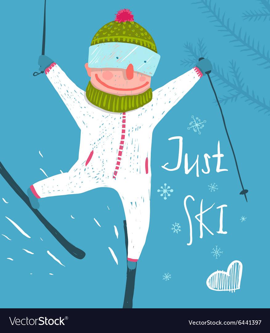 Днем, с днем физкультурника картинки прикольные лыжники
