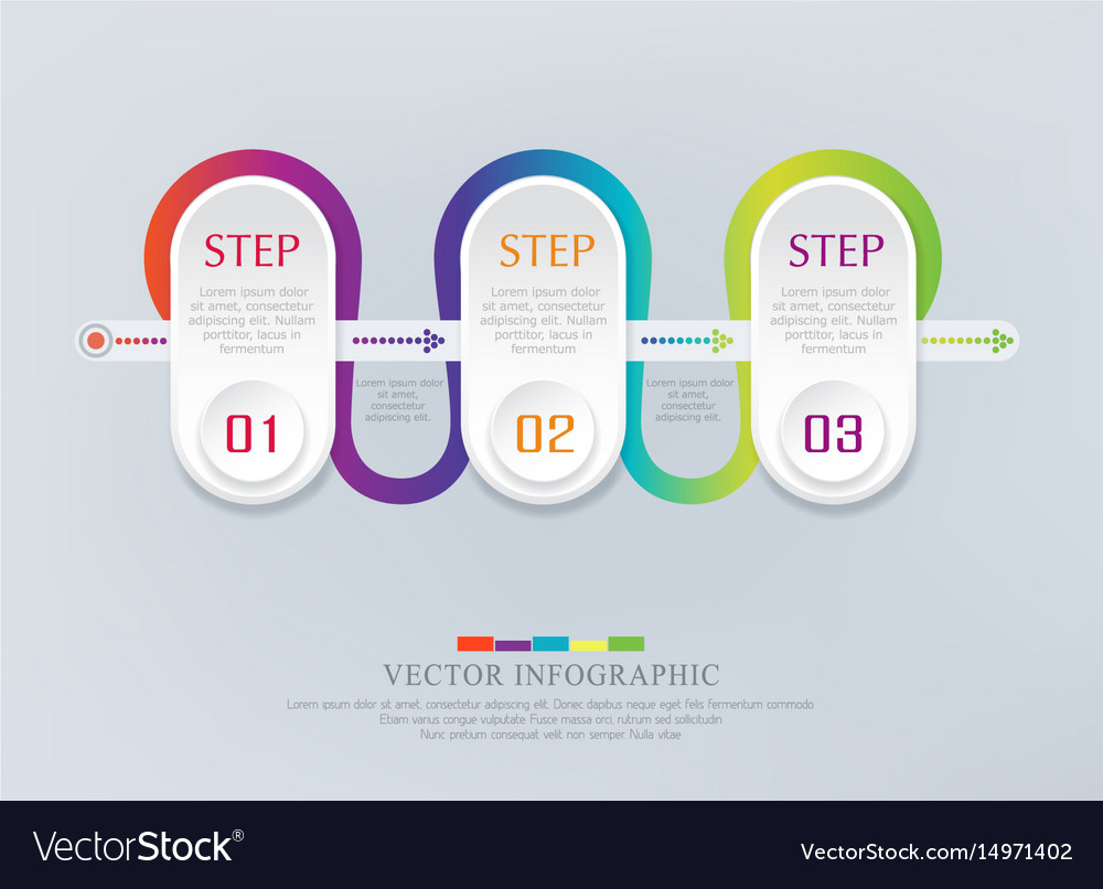Abstract element for business strategy in stages