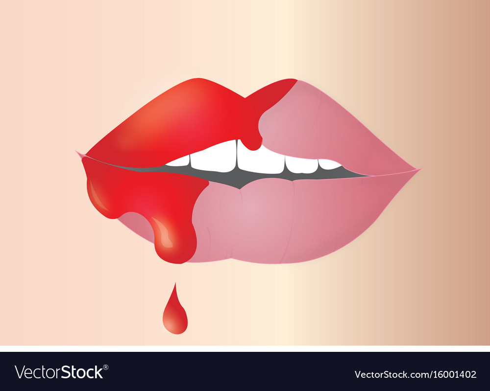 Lip vector image