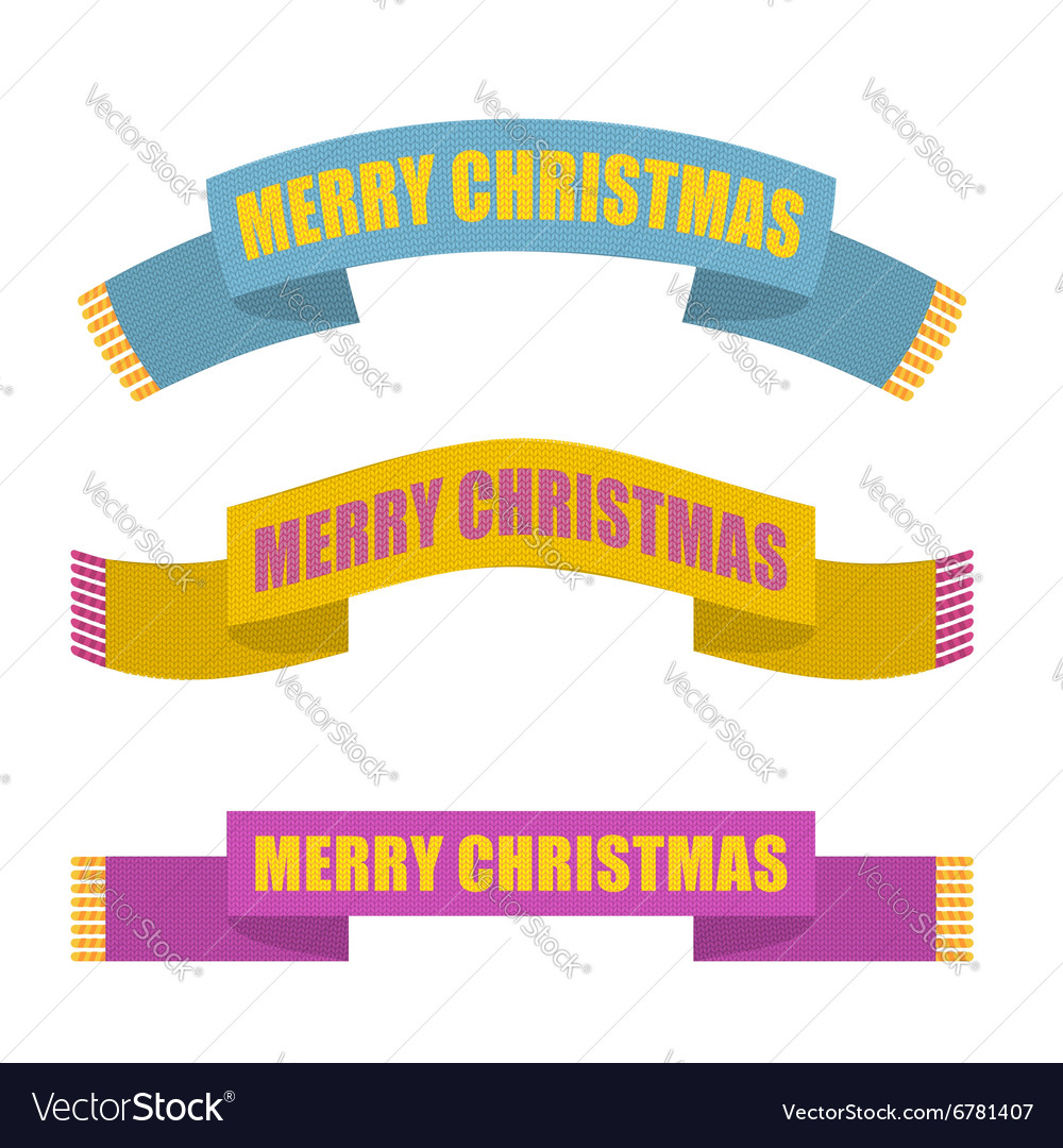 Merry Christmas Winter scarf Warm accessory