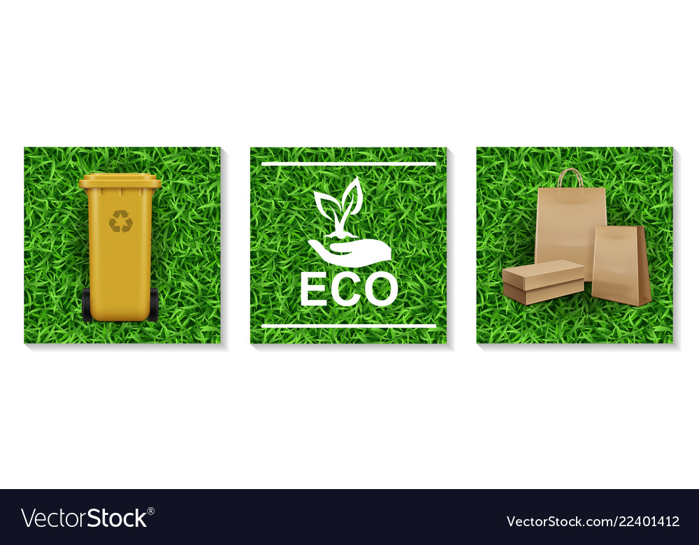 Realistic ecology and nature elements set