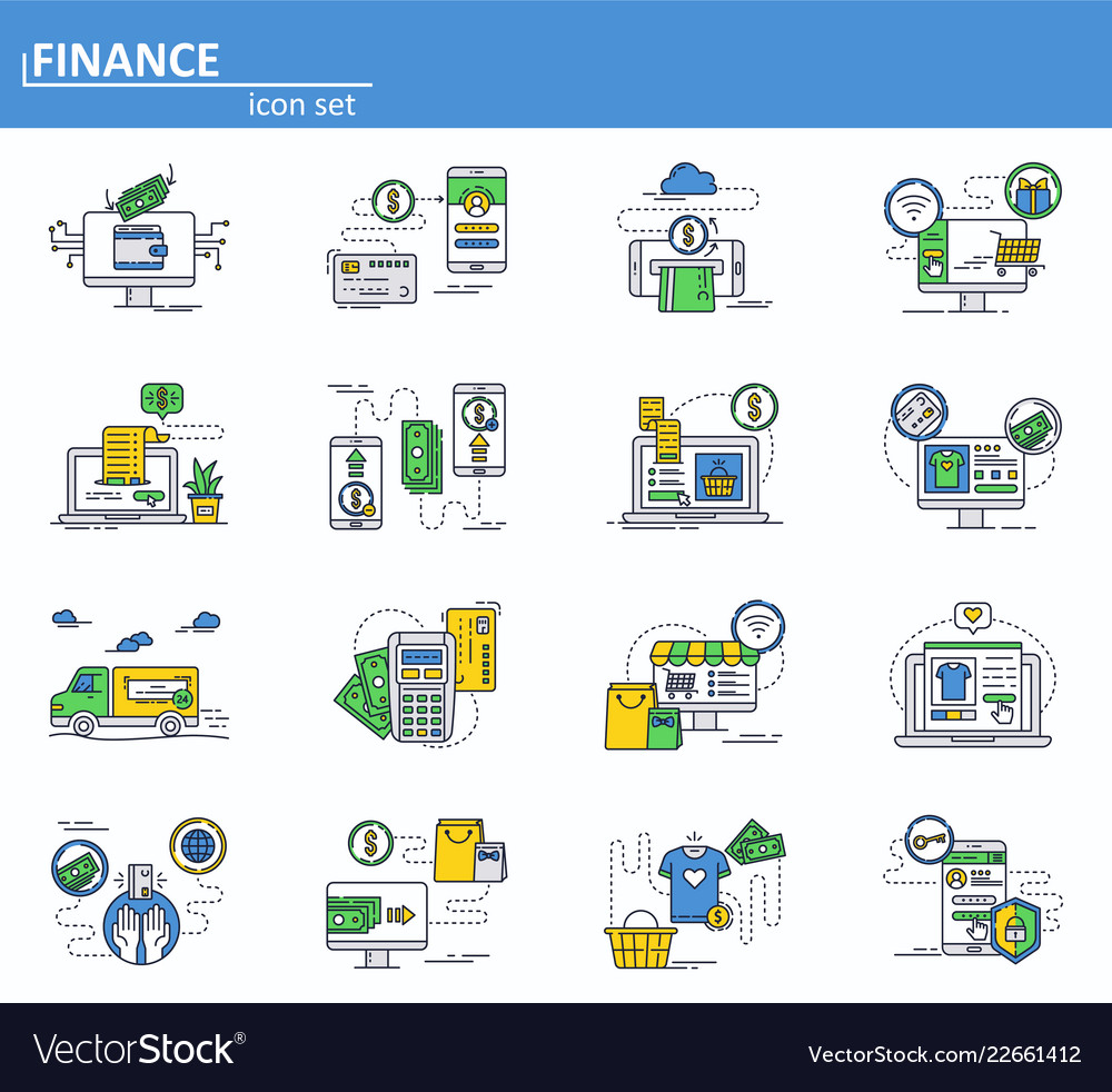 Set online money payments and internet