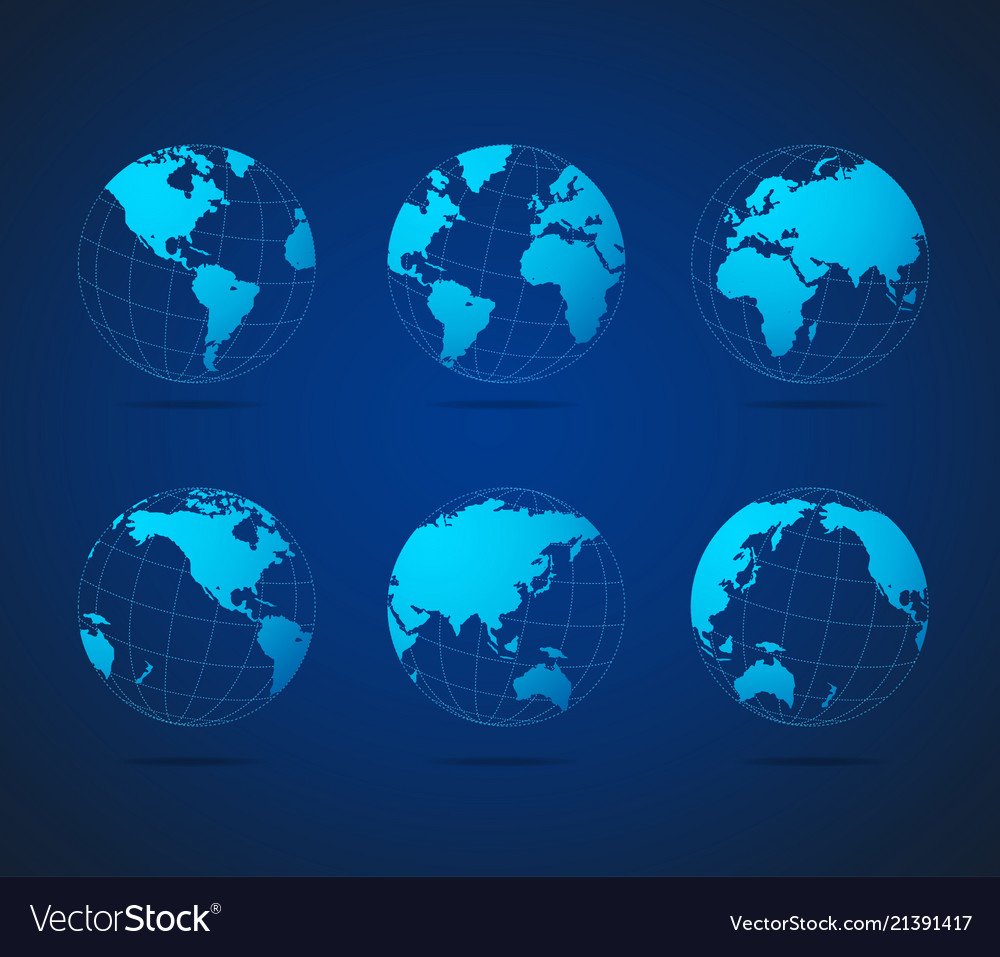 Map globe set