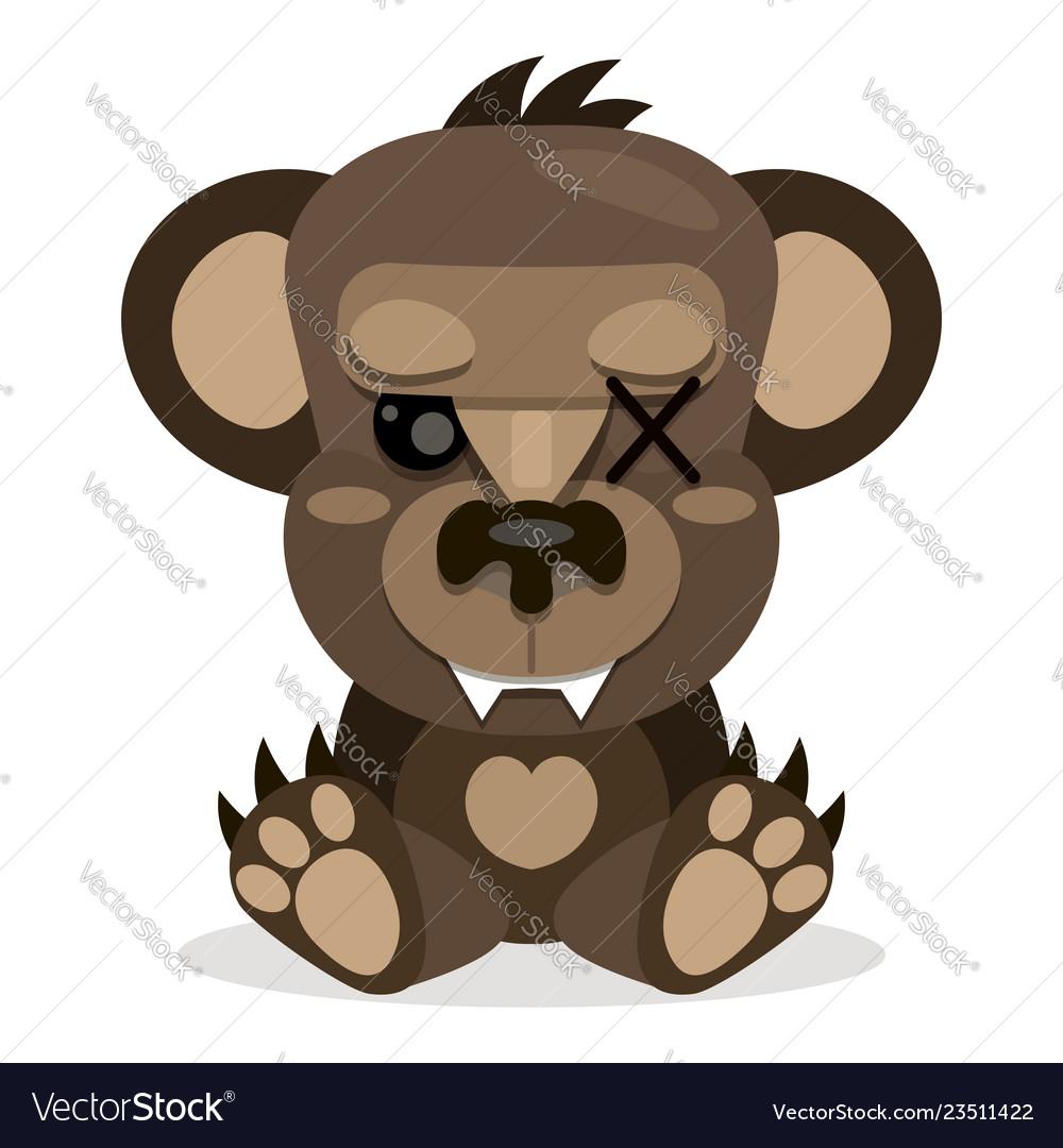 Cute teddy bear smilingtoy for children